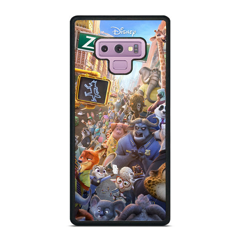 ZOOTOPIA CHARACTERS Disney Samsung Galaxy Note 9 Case Cover