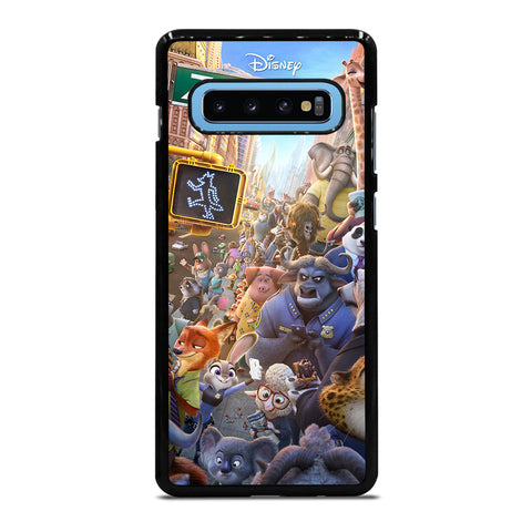 ZOOTOPIA CHARACTERS Disney Samsung Galaxy S10 Plus Case Cover