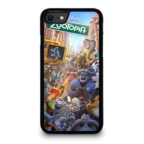 ZOOTOPIA CHARACTERS Disney iPhone SE 2020 Case Cover
