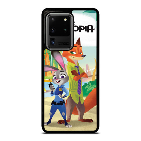 ZOOTOPIA JUDY AND NICK Disney Samsung Galaxy S20 Ultra Case Cover