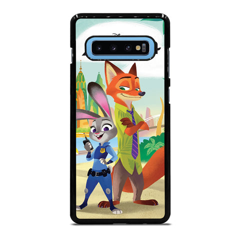 ZOOTOPIA JUDY AND NICK Disney Samsung Galaxy S10 Plus Case Cover
