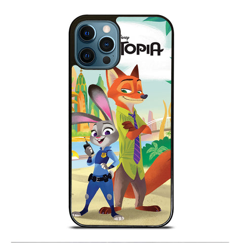 ZOOTOPIA JUDY AND NICK Disney iPhone 12 Pro Max Case Cover