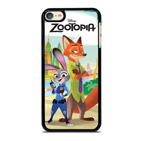 ZOOTOPIA JUDY AND NICK Disney iPod Touch 6 Case Cover
