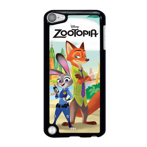 ZOOTOPIA JUDY AND NICK Disney iPod Touch 5 Case Cover