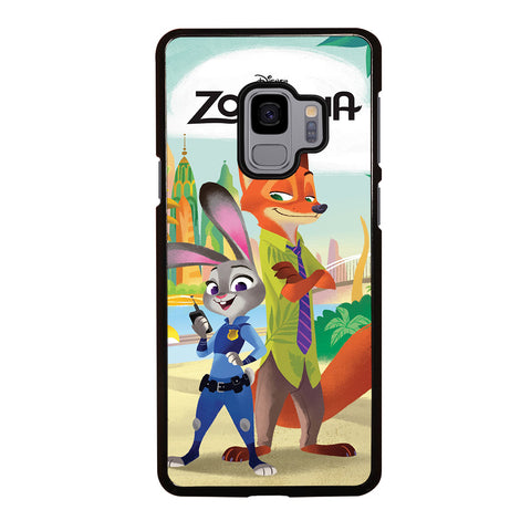 ZOOTOPIA JUDY AND NICK Disney Samsung Galaxy S9 Case Cover
