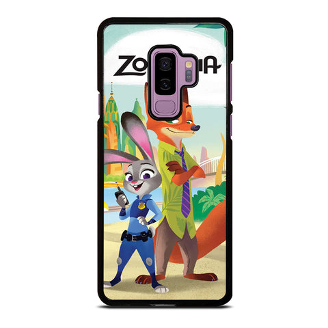 ZOOTOPIA JUDY AND NICK Disney Samsung Galaxy S9 Plus Case Cover
