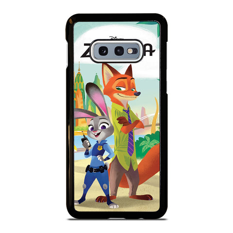 ZOOTOPIA JUDY AND NICK Disney Samsung Galaxy S10e Case Cover