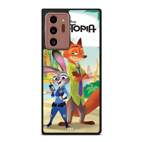 ZOOTOPIA JUDY AND NICK Disney Samsung Galaxy Note 20 Ultra Case Cover