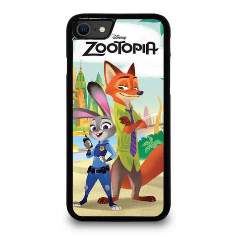 ZOOTOPIA JUDY AND NICK Disney iPhone SE 2020 Case Cover