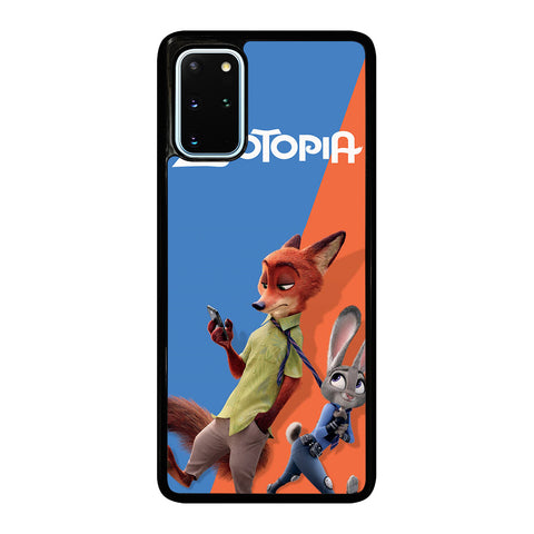 ZOOTOPIA NICK AND JUDY Disney Samsung Galaxy S20 Plus Case Cover
