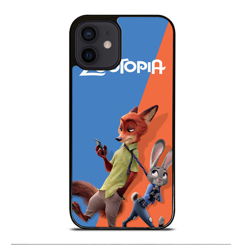 ZOOTOPIA NICK AND JUDY Disney iPhone 12 Mini Case Cover