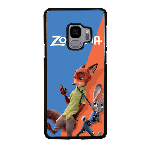 ZOOTOPIA NICK AND JUDY Disney Samsung Galaxy S9 Case Cover