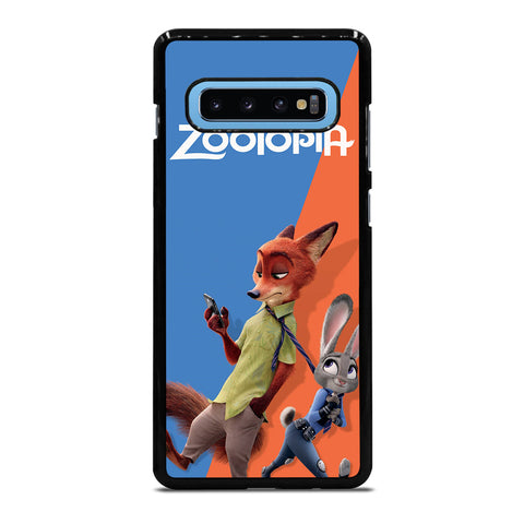ZOOTOPIA NICK AND JUDY Disney Samsung Galaxy S10 Plus Case Cover