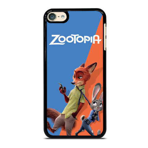 ZOOTOPIA NICK AND JUDY Disney iPod Touch 6 Case Cover