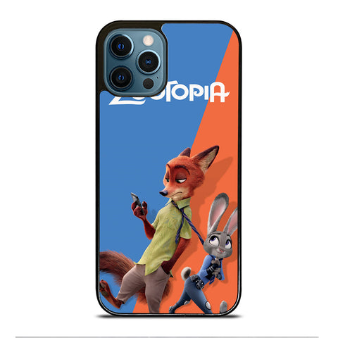 ZOOTOPIA NICK AND JUDY Disney iPhone 12 Pro Max Case Cover