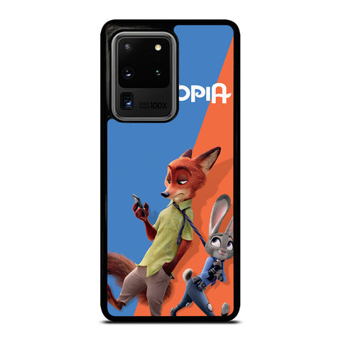 ZOOTOPIA NICK AND JUDY Disney Samsung Galaxy S20 Ultra Case Cover