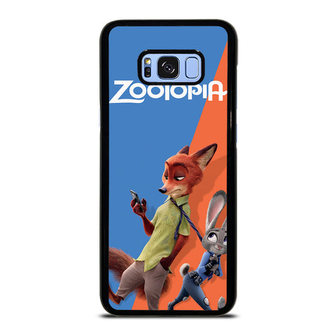 ZOOTOPIA NICK AND JUDY Disney Samsung Galaxy S8 Plus Case Cover