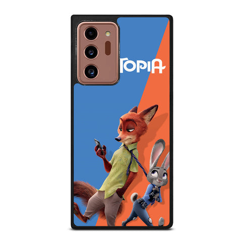 ZOOTOPIA NICK AND JUDY Disney Samsung Galaxy Note 20 Ultra Case Cover