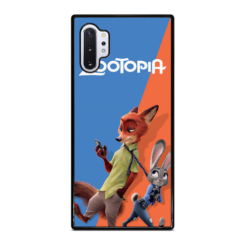 ZOOTOPIA NICK AND JUDY Disney Samsung Galaxy Note 10 Plus Case Cover