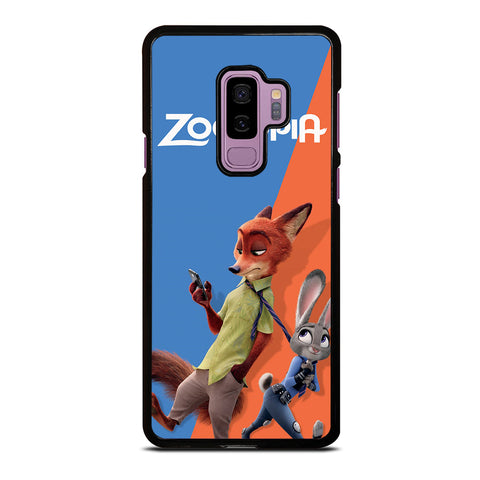 ZOOTOPIA NICK AND JUDY Disney Samsung Galaxy S9 Plus Case Cover