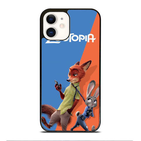 ZOOTOPIA NICK AND JUDY Disney iPhone 12 Case Cover