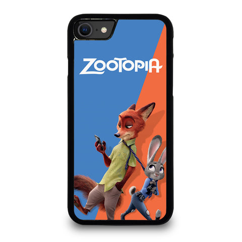 ZOOTOPIA NICK AND JUDY Disney iPhone SE 2020 Case Cover