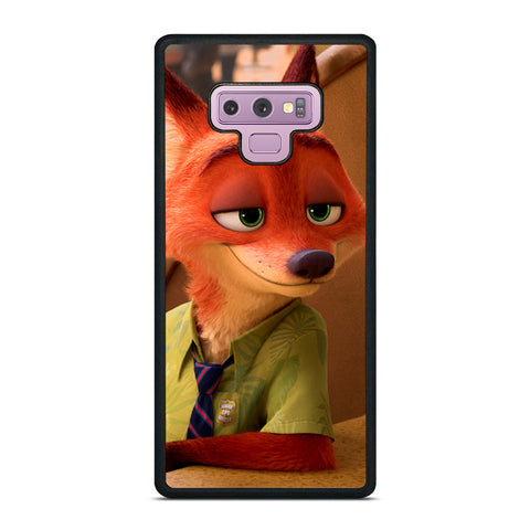 ZOOTOPIA NICK WILDE Disney Samsung Galaxy Note 9 Case Cover