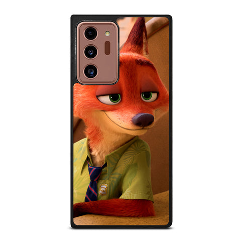 ZOOTOPIA NICK WILDE Disney Samsung Galaxy Note 20 Ultra Case Cover