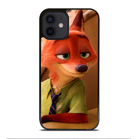 ZOOTOPIA NICK WILDE Disney iPhone 12 Mini Case Cover