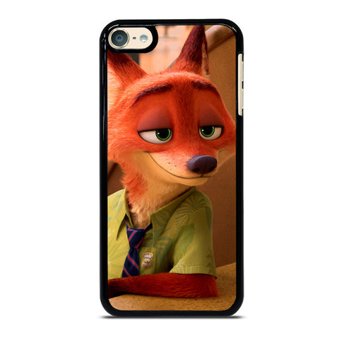 ZOOTOPIA NICK WILDE Disney iPod Touch 6 Case Cover