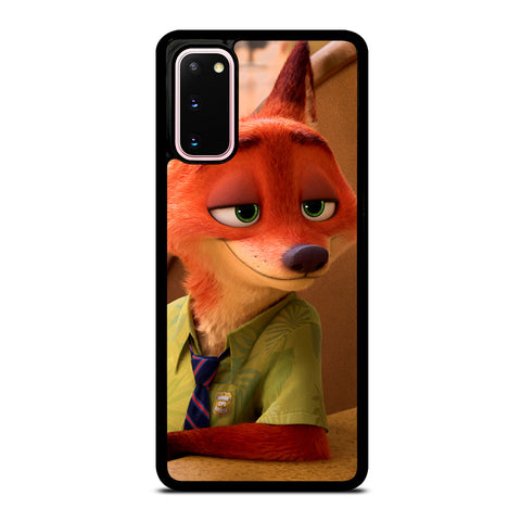 ZOOTOPIA NICK WILDE Disney Samsung Galaxy S20 Case Cover