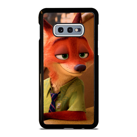 ZOOTOPIA NICK WILDE Disney Samsung Galaxy S10e Case Cover