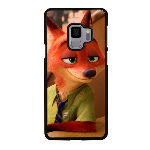 ZOOTOPIA NICK WILDE Disney Samsung Galaxy S9 Case Cover