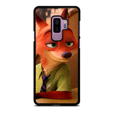 ZOOTOPIA NICK WILDE Disney Samsung Galaxy S9 Plus Case Cover