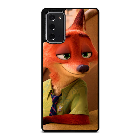 ZOOTOPIA NICK WILDE Disney Samsung Galaxy Note 20 Case Cover