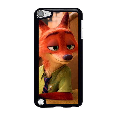 ZOOTOPIA NICK WILDE Disney iPod Touch 5 Case Cover
