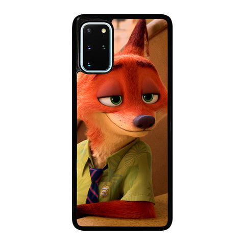 ZOOTOPIA NICK WILDE Disney Samsung Galaxy S20 Plus Case Cover