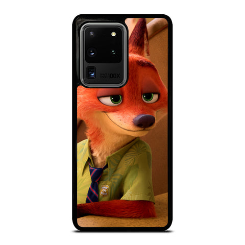 ZOOTOPIA NICK WILDE Disney Samsung Galaxy S20 Ultra Case Cover