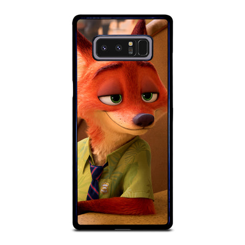 ZOOTOPIA NICK WILDE Disney Samsung Galaxy Note 8 Case Cover