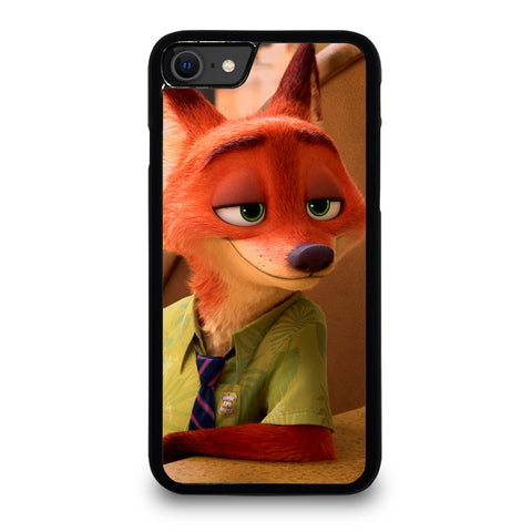 ZOOTOPIA NICK WILDE Disney iPhone SE 2020 Case Cover