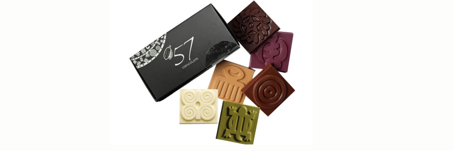A collection of Adinkra chocolate
