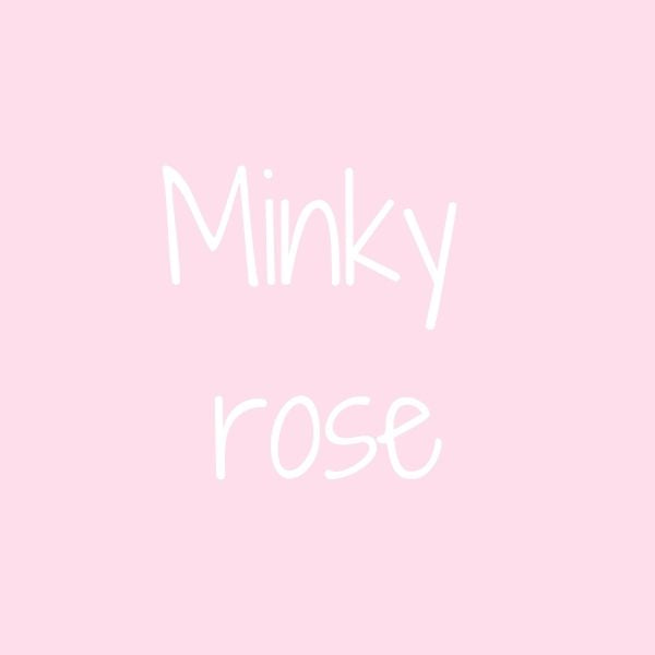 Option dos en minky rose