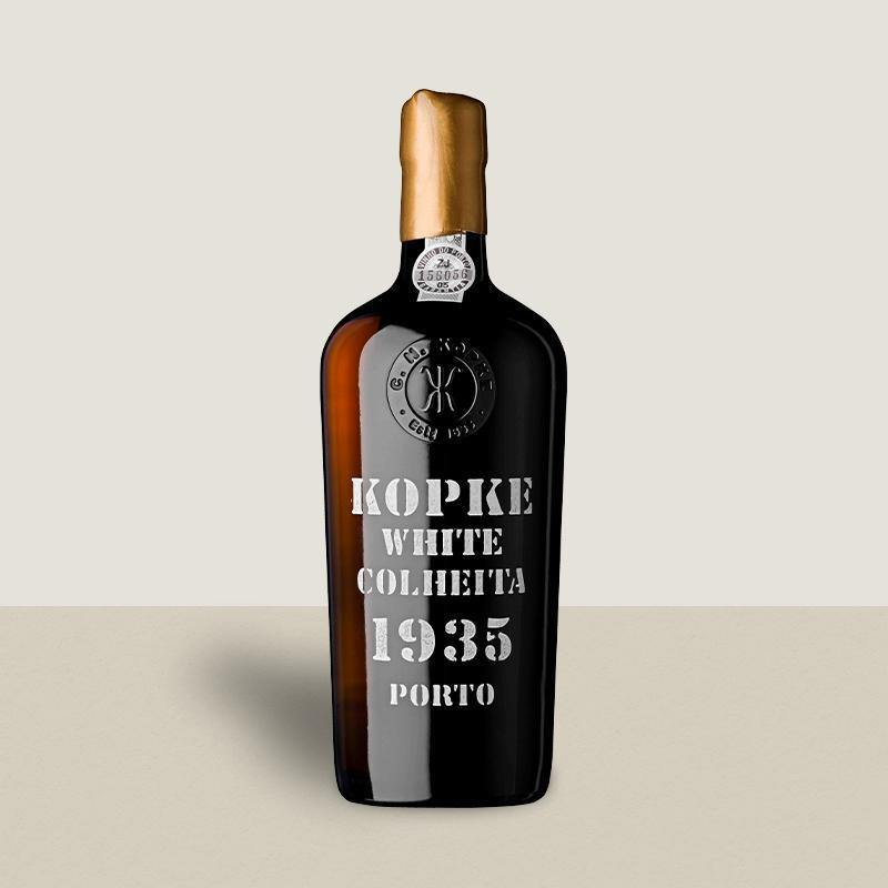 Kopke White Colheita Port 1935
