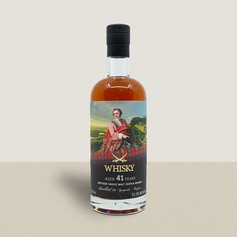 Speyside 41 yo Region Malt The Clans Sherry Cask Sansibar 51.1%