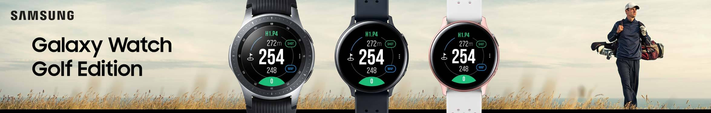 Samsung Galaxy Watch Golf Edition Banner