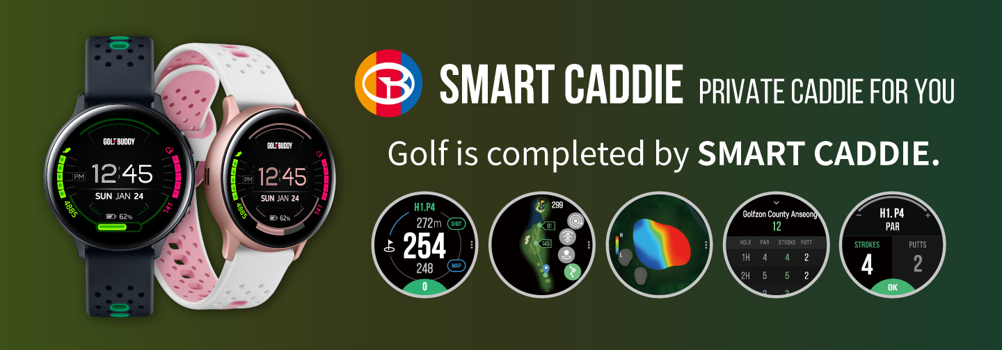 Smart Caddie Gear S3 Sport Galaxy Watch Active2