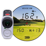 GOLFBUDDY aim L10V Laser Rangefinder with Slope & Voice Viewport