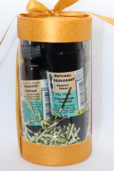'Switch to Natural' Gift Set - Armpit Detox and Natural Deodorant