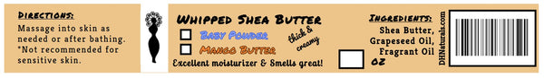 Whipped Shea Butter - Scented