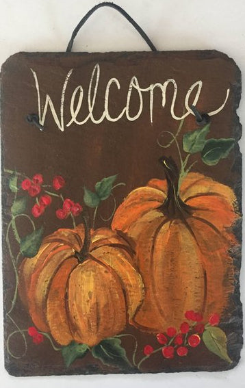 "Sept 20, Thurs, 6:30-8:30pm  ""The Wilmington Inn, Slate Welcome Sign"""